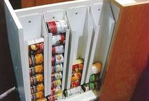 Kitchen Organization / Hack the crap out of your kitchen, and food too.
