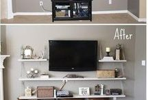 Living Room Organization / The living room is the star of your home, make it shine