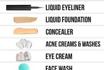 Skin Care / Beauty is skin deep that's why we need to take care of our skin.