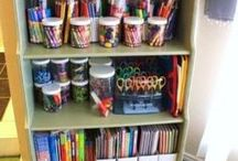 Kids Bedroom Organization / Get those kids rooms organized, even if it lasts a minute.