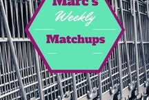 Weekly Coupon Matchups