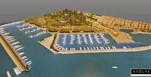 Ataköy Marina / Yıl;  2016 Ölçek; 1/400 İşveren; Dati Holding Mimari Proje; Tabanlıoğlu Mimarlık