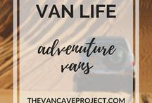 Van Life | Adventure Vans / Adventure vans for living the Van Life off-road. Focus on vanlife, van conversion, camper, van-dwelling, van living & becoming a vanlifer.