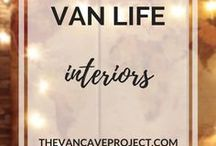 Van Life | Interiors / Beautifully designed van interiors to inspire you to build a conversion of your own. Focus on vanlife, van conversion, camper, van-dwelling, van living & becoming a vanlifer.