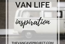 Van Life | Inspiration / Beautifully shot Van Life photos to inspire you to start living the #vanlife. Focus on vanlife, van conversion, camper, van-dwelling, van living & becoming a vanlifer.