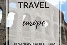 Travel | Europe / Europe travel photos, advice, & tips to inspire travellers, adventurers & nomads. Focus on travelling, adventuring, backpacking, budget travel; plus RV, motorhome, campervan travel.
