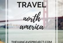 Travel | North America / North America travel photos, advice, & tips to inspire travellers, adventurers & nomads. Focus on travelling, adventuring, backpacking, budget travel; plus RV, motorhome, campervan travel.