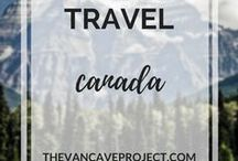 Travel | Canada / Canada travel photos, advice, & tips to inspire travellers, adventurers & nomads. Focus on travelling, adventuring, backpacking, budget travel; plus RV motorhome, campervan travel.