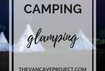 Camping | Glamping / Beautifully decorated glamping pods/campsites to inspire you to #getoutside. Focus on glamping, camping & outdoors.
