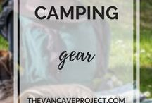 Camping | Gear / Must have outdoor gear to make your camping trip a breeze. Focus on hiking, camping, outdoors & backpacking gear.