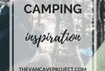 Camping | Inspiration / Beautifully shot camping photos to inspire you to #getoutside. Focus on camping, hiking, travelling, backpacking & stunning landscape photography.