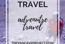 Travel | Adventure Travel / Adventure travel photos & tips to inspire you to #getoutside. Focus on outdoors, camping, hiking, travelling, biking, backpacking & adventuring.