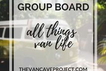 All Things Van Life / All Things Van Life from inspiration, conversions, life on the road to vanlife hacks, tips and advice. If you want to be added please follow us on Pinterest and contact us via the Pinterest private message option or email us: thevancaveproject [at] gmail.com. Thanks!