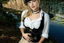 Steampunk / Al mijn steampunk outfits!