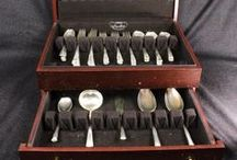 Silver & Luzury Items / Hand picked collection of silver items including flatware and other various luxury collectibles.