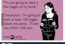 Book Junkie / My favorite books and quotes about reading. / by Tally Lopez