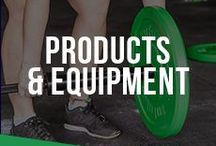 Products & Equipment / Strength training, weight lifting, CrossFit, powerlifting, strongman, conditioning, speed & agility, and mobility equipment.