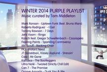 The Purple Playlist / Monthly #music #playlist from the #YOTEL #NY #hotel curated by #DJ #TomMiddleton