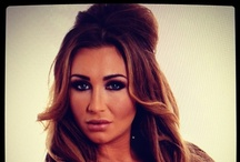 Wonderful Hair Extensions on set with Lauren Goodger / Backstage at a shoot with Lauren Goodger using Wonderful Hair Extensions / by Wonderful Hair Extensions