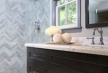 Master Bathroom Inspiration / by Making It With Danielle