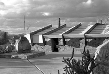 Taliesin West in 1942 / In honor of the new year, were taking a look back at some archival images of Taliesin West taken by Frank Lloyd Wright's apprentice, Robert Carroll May.