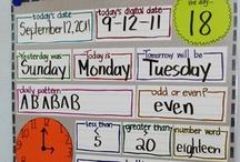 Classroom - Calendar/Morning Work / by Bailey Wilson