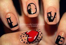 Inspiration ● Valentine's nail art