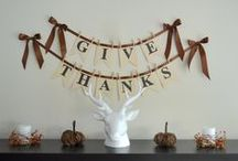 Thanksgiving on Making It With Danielle / Thanksgiving recipes + crafts! / by Making It With Danielle