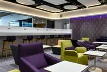 YOTELAIR / YOTELAIR has airport locations at London Heathrow, London Gatwick, Amsterdam Schiphol and Paris Charles de Gaulle. Our innovative cabins are bookable by the hour with check-in and check-out times that are both convenient & flexible. Relax, Refresh and Connect with us!