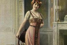 Mode 1910 art nouveau