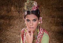 Trajes de flamenca. Olé guapas