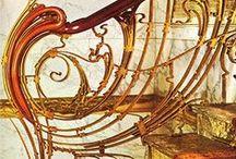 Gustave Eiffel, Horta en Wim Delvoye / metalen architectuur / by V M