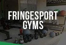 FringeSport Gyms / We love featuring our customer's garage gyms for tips on building our own and just to show off how bad&ss they are :)
