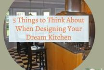 KITCHEN / Inspiring kitchen designs and for your dream kitchen. Decor, tips, and tricks for the kitchen you have now. The kitchen is the heart of the home, give it the attention it deserves!