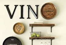 WINE   cellars and more / Loudoun County has some of the best wineries in the country, and we love them! We'll pin great DIY ideas and inspiration for storing your wine and turning local winery barrels into awesome things.