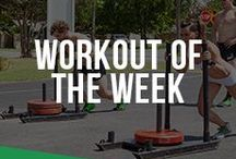 Workout of the Week / Our team and our customers show us many of their favorite WODs / workouts and we are sharing them with you.