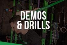 Demos & Drills / You can find tips and first-hand knowledge of workout techniques and equipment advice here.