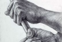 dessin 【hands】