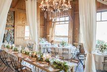 Venue Decor / Light, bright & pretty natural wedding venue ideas