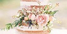 Wedding Cakes / Stunning natural wedding cake and treats ideas