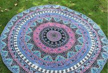 Tapestry / Dye printing.