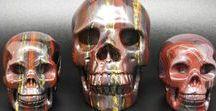 Crystal Skulls / Amazing Crystal Skulls Beautiful detailed Crystal Carvings