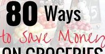 Save Money On Groceries / How to save money on groceries. The best tips on frugal living and saving money on groceries without coupons. Stay on top of your food budget and still eat healthy and feed your family with these money saving tips. Best ways to save money on groceries in Aldi. Plan your meals and shopping lists with these tips and tricks.
