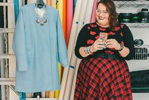 Plus Size Fashion / Plus-size outfits that are awesome and some body-acceptance stuff too. / by Jennifer Johnson