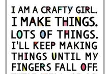Crafting/DIY / All the crafts and DIY projects I love...and maybe occasionally have actually made. / by Jennifer Johnson