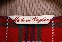 Made in England / With a number of our clients manufacturing their products right here in Northamptonshire and the UK, we love all things Made in Britain!