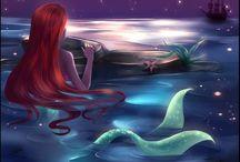 Mermaids / All things mermaid. / by Jennifer Johnson