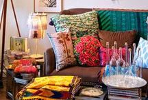 Home Decor / I have a dream of re-purposing an industrial space or an old Plantation House into a home with wide open spaces and almost no interior walls. / by Eva Marshall