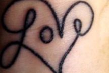 A Tiny Tattoo / Tattoo inspiration. Maybe once day I'll finally get one.