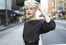 Short Hair Don't Care / Bobs and Pixie haircuts are the only thing that matter when it comes to hair :)!  / by Jessica Brown